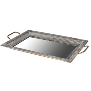 Distressed Mirror Tray