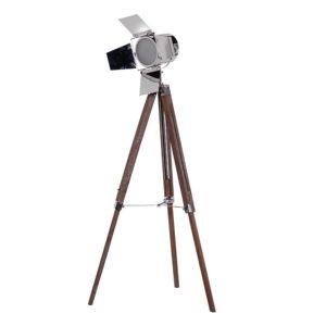 Tripod Lamp with Box Spotlight