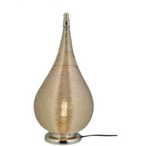 Coil table Lamp - Large brass tone