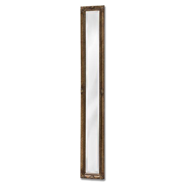 Antique Gold Framed Narrow Mirror