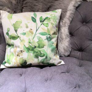 Eucalyptus Print Cushion